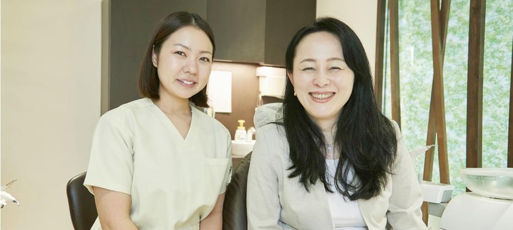 リラックスして受診できる予防歯科